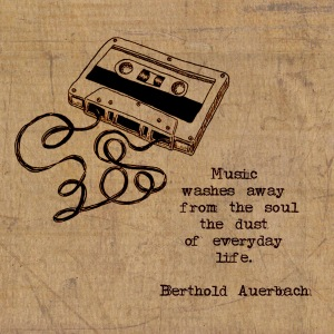 music washes away...
