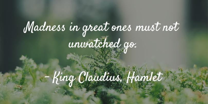 Claudius quote