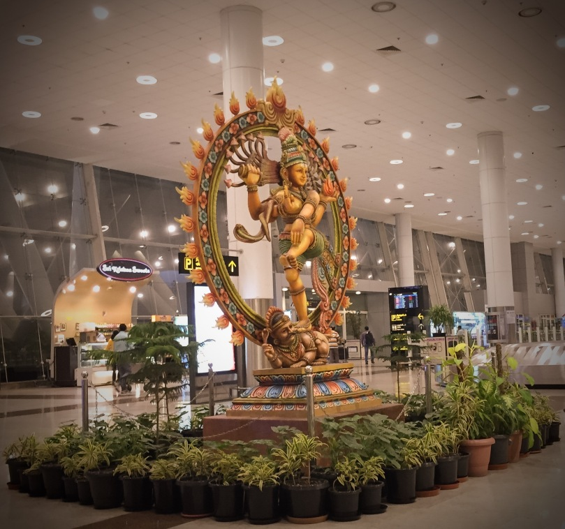 handed down - Hindu god in Chennai airport