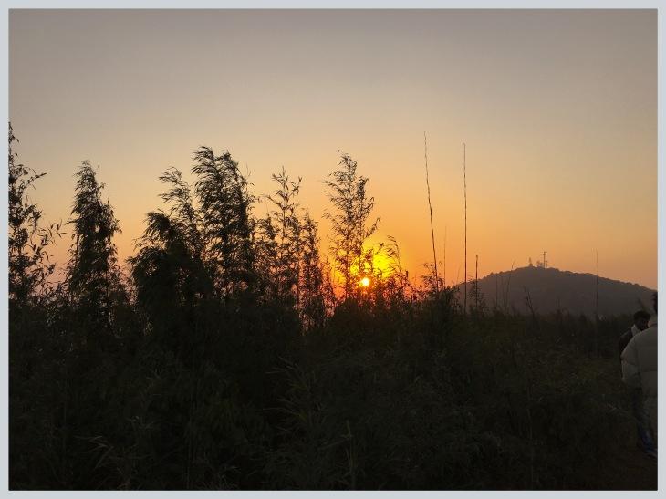 Sunrise in Kanchenjunga