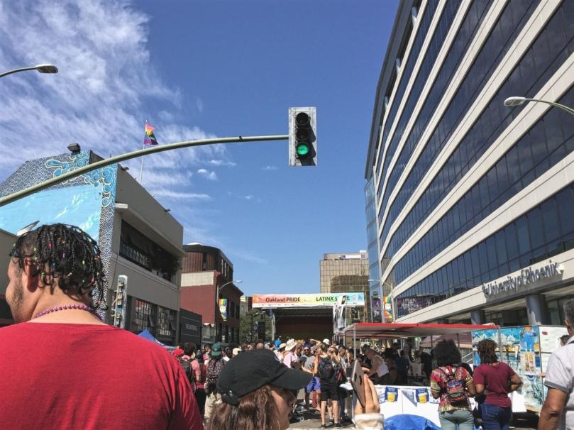 Oakland Pride Franklin Street
