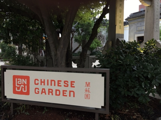 Entrance to the Chinese Garden