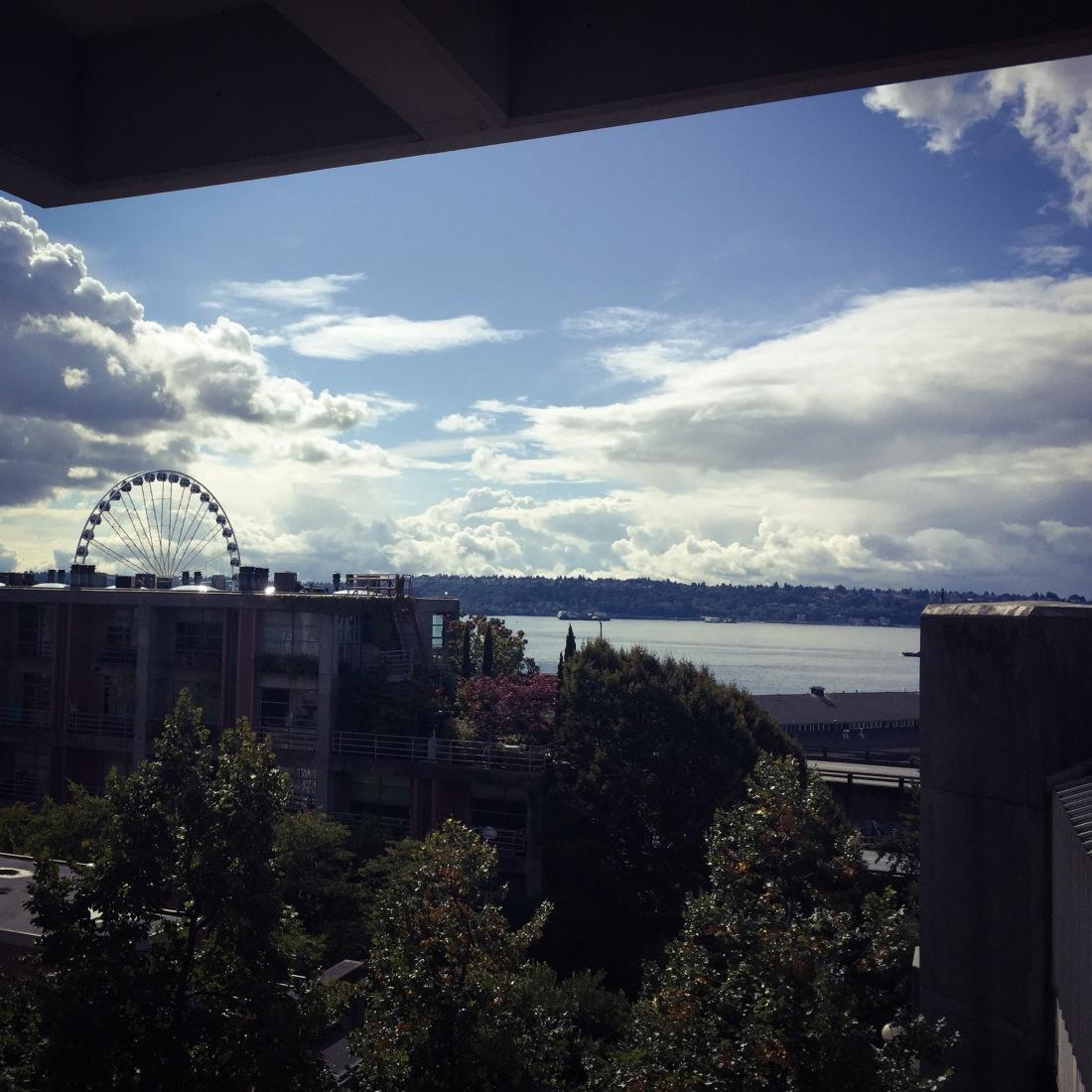 Ferris Wheel, Seattle Waterfront