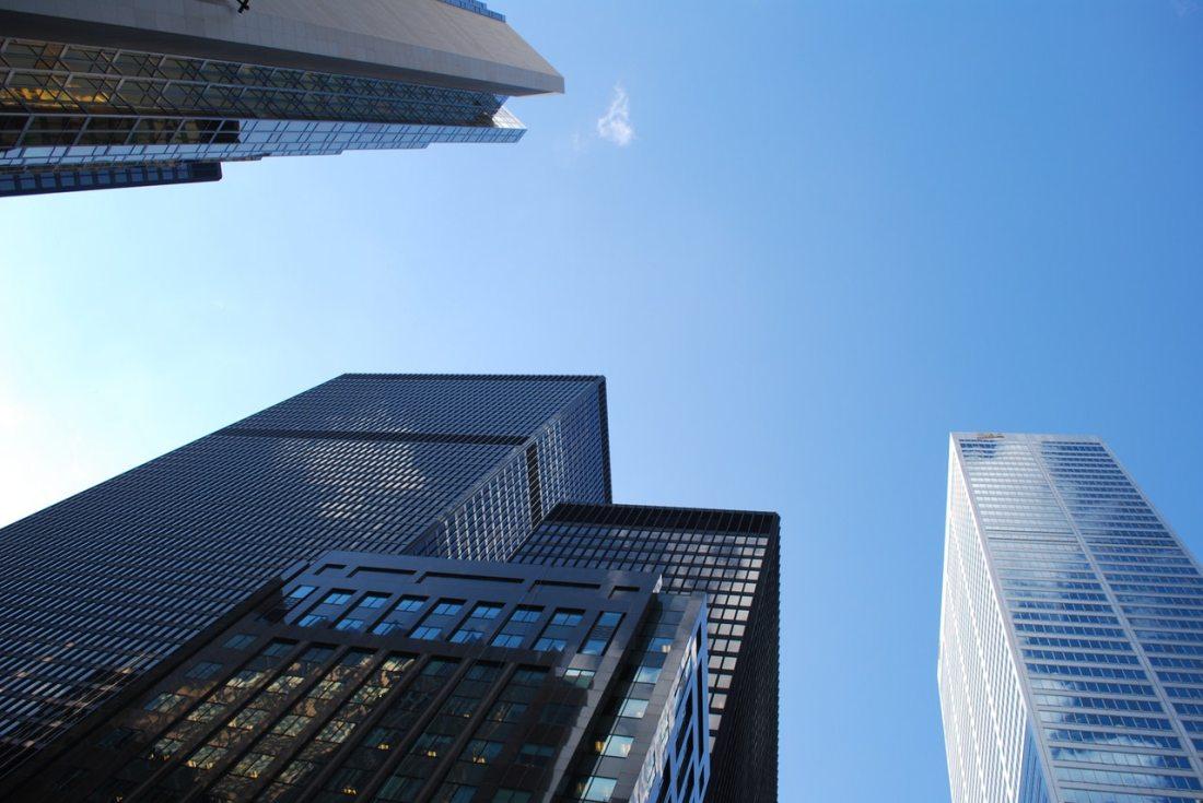 corporate highrise buildings
