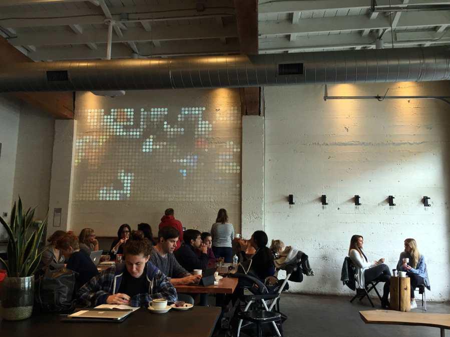 Cup & Bar, a coffee shop in Portland