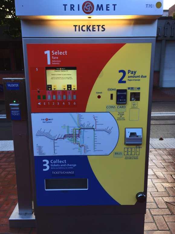 Portland light rail system