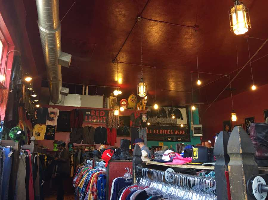 The Red Light, a clothing store in Portland