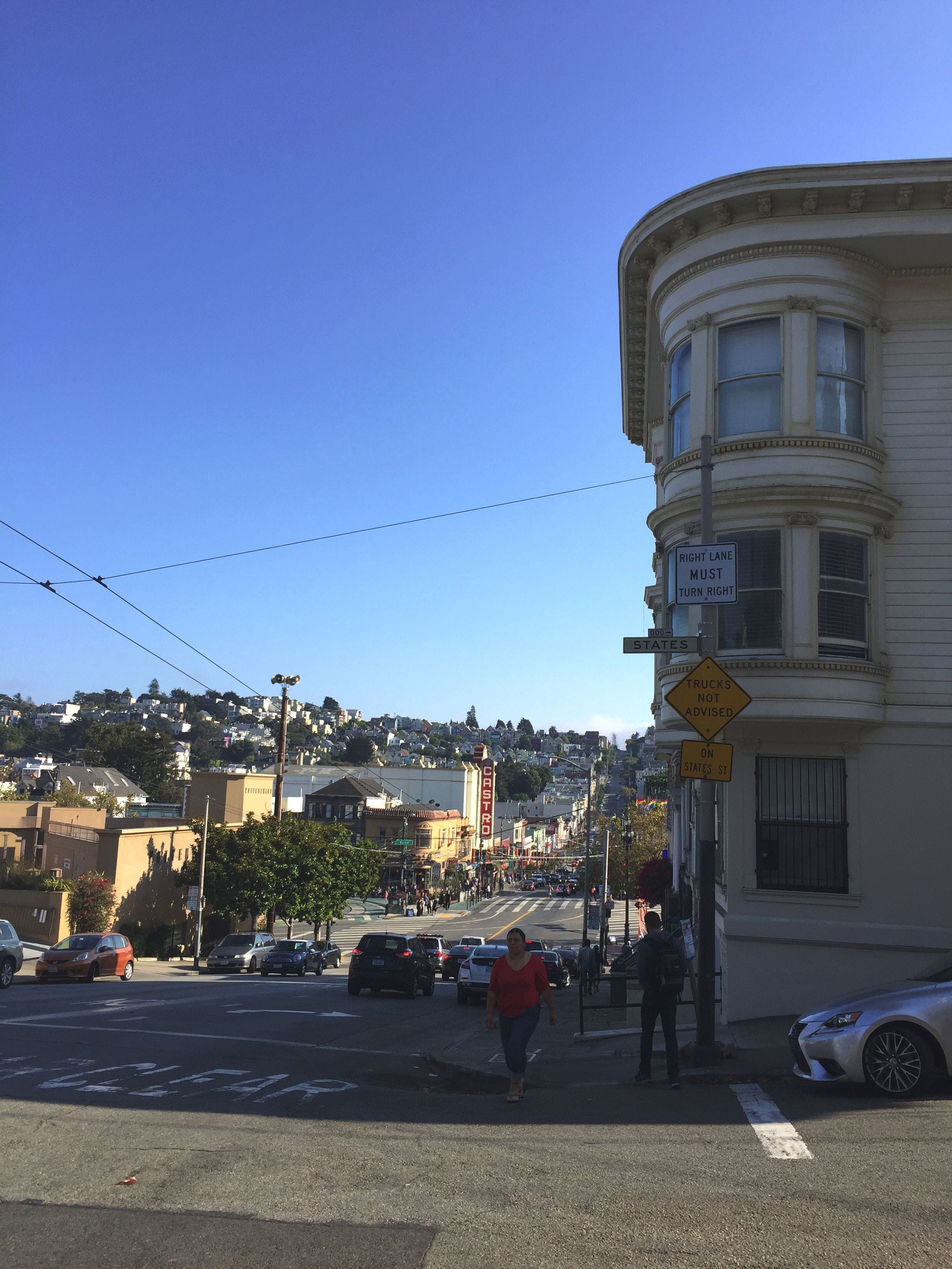 The streets of Castro