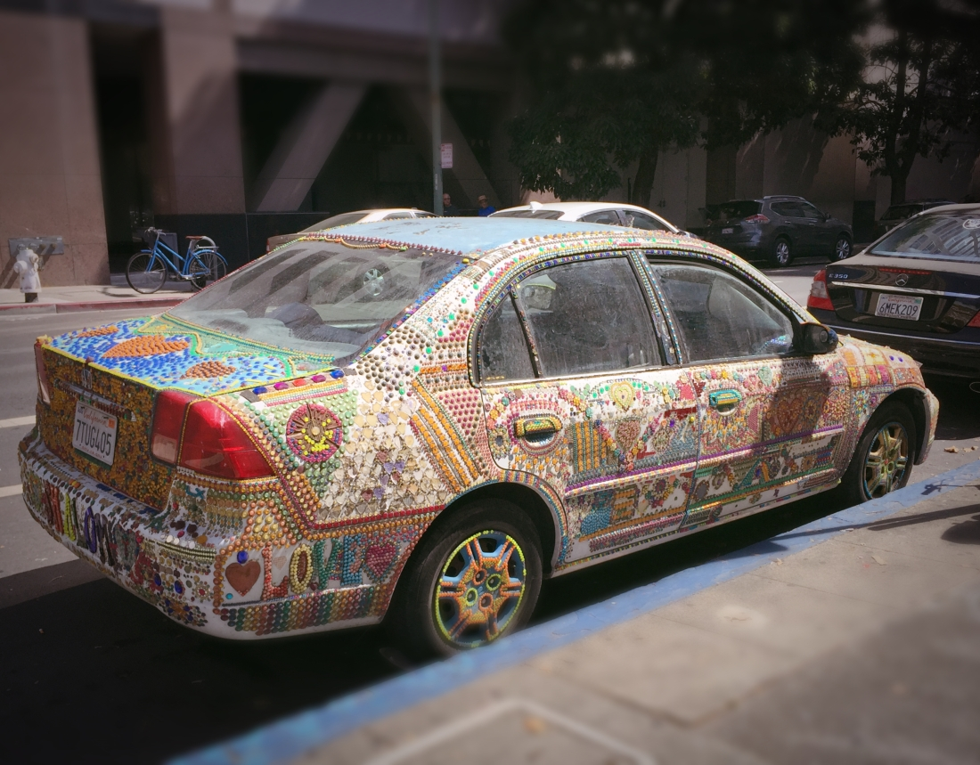 Fancy car in Oakland
