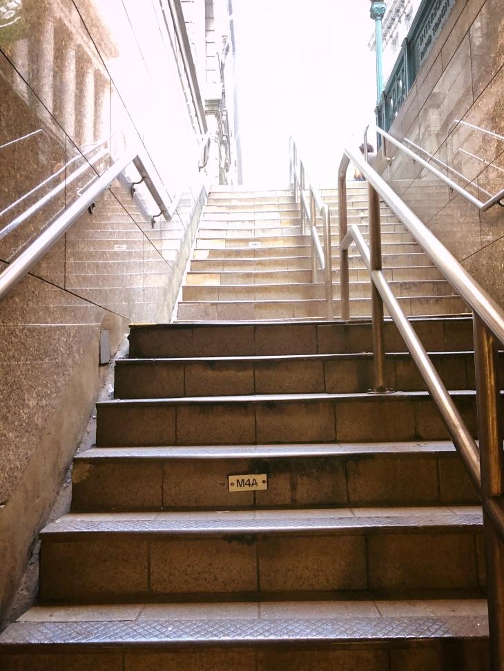 Wall Street Subway, New York City
