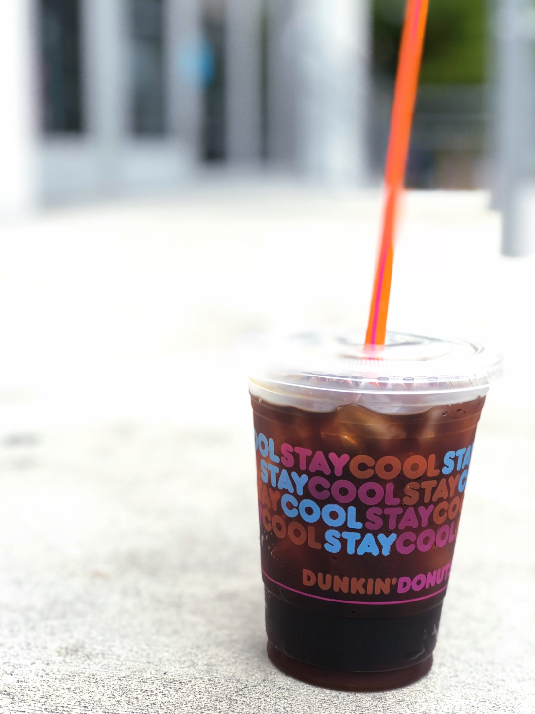 Dunkin Donuts cold brew