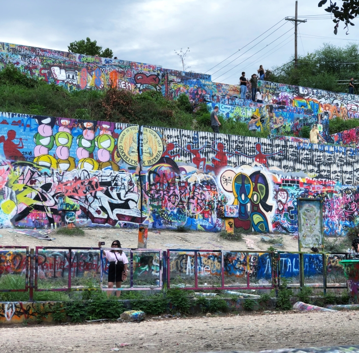 Hope outdoor gallery, Austin Texas