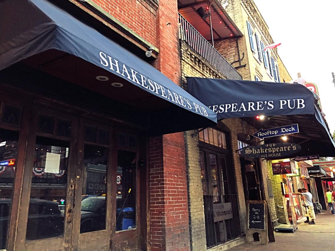 Shakespeare's Pub, Austin, Texas
