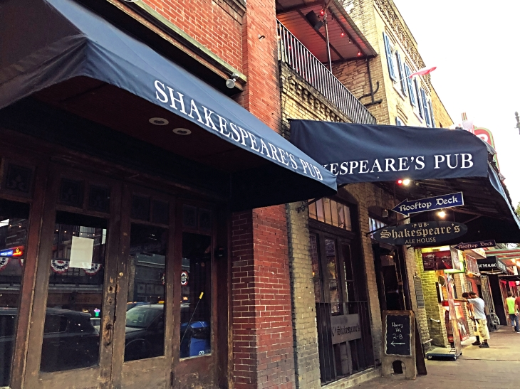 Shakespeare's Pub, Austin, Texas