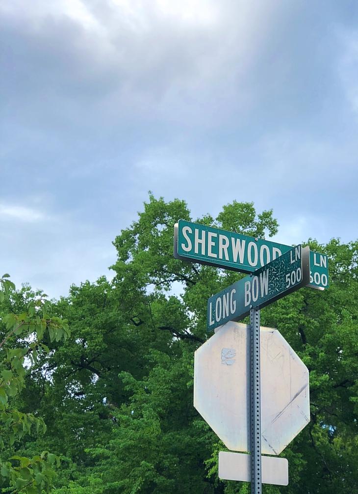 Street names in Austin, Texas
