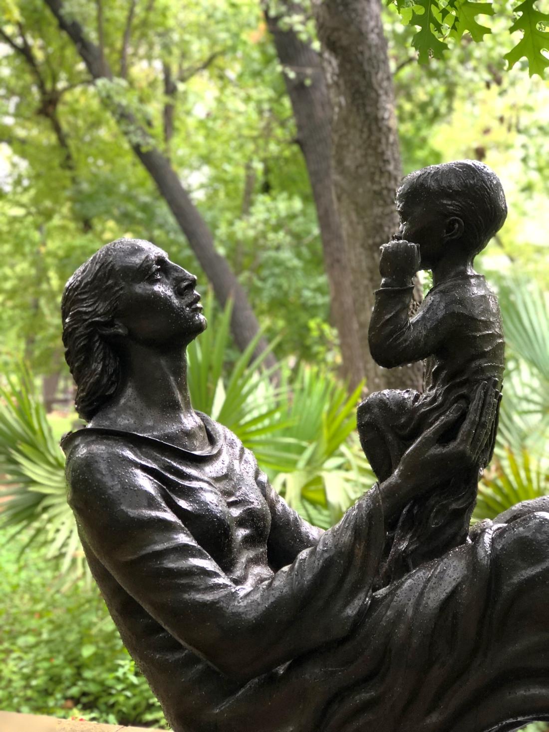 Umlauf sculpture museum in Austin, Texas