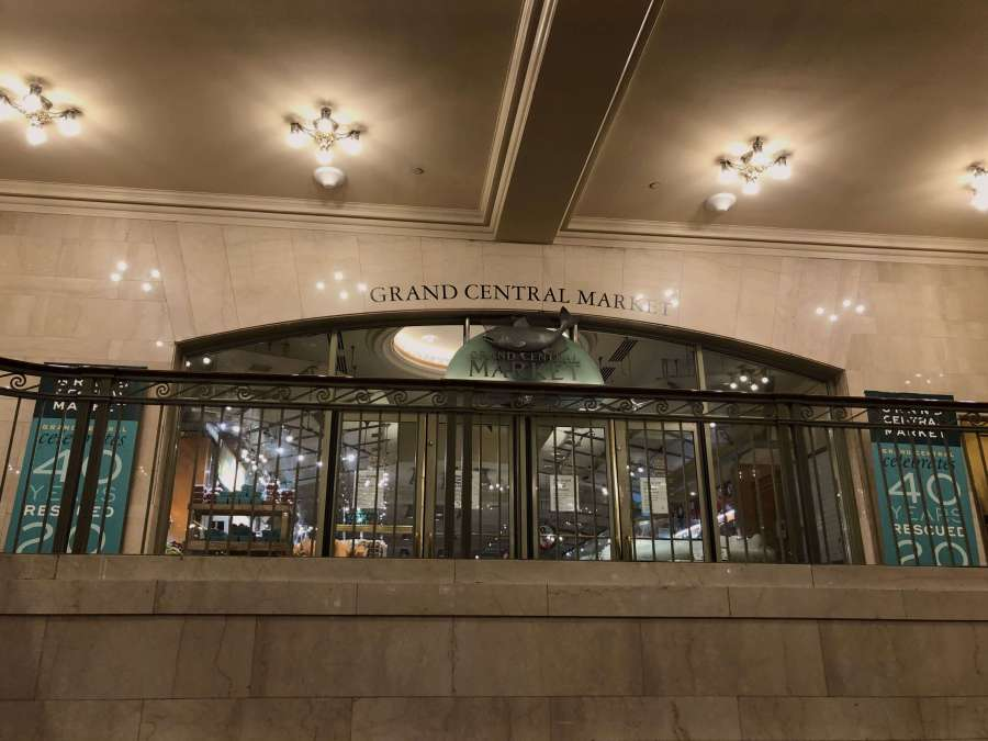 The Grand Central Market at the Grand Central Terminal in NYC