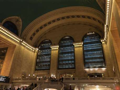 Inside the Grand Central Terminal building