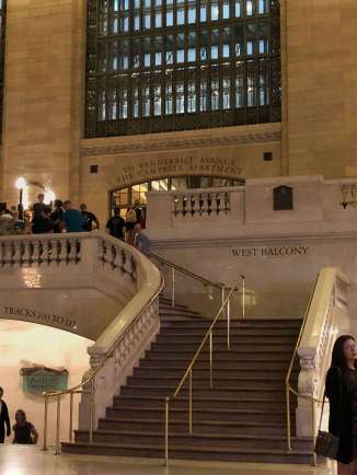Grand Central Terminal ways to lower concourses