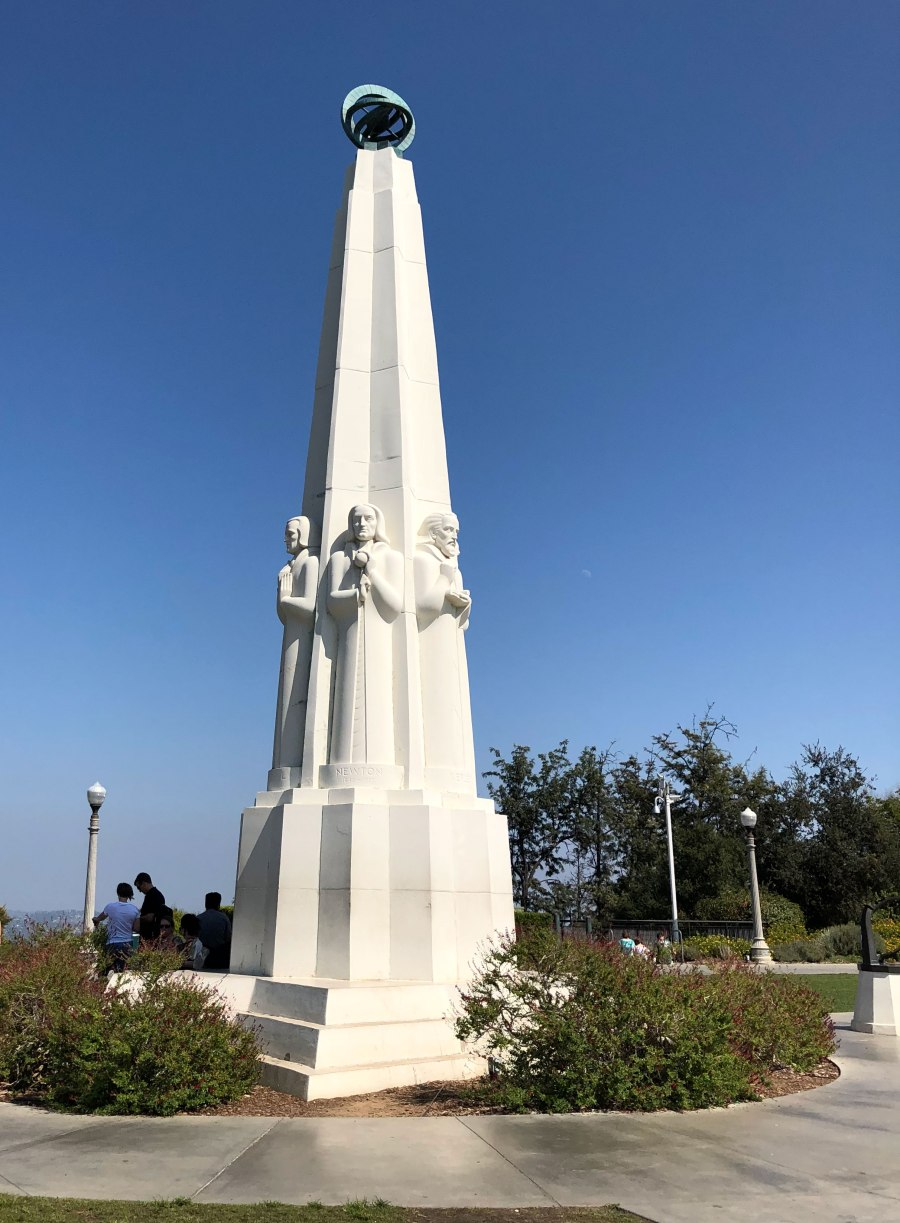 Astronomers monument - Griffith Observatory