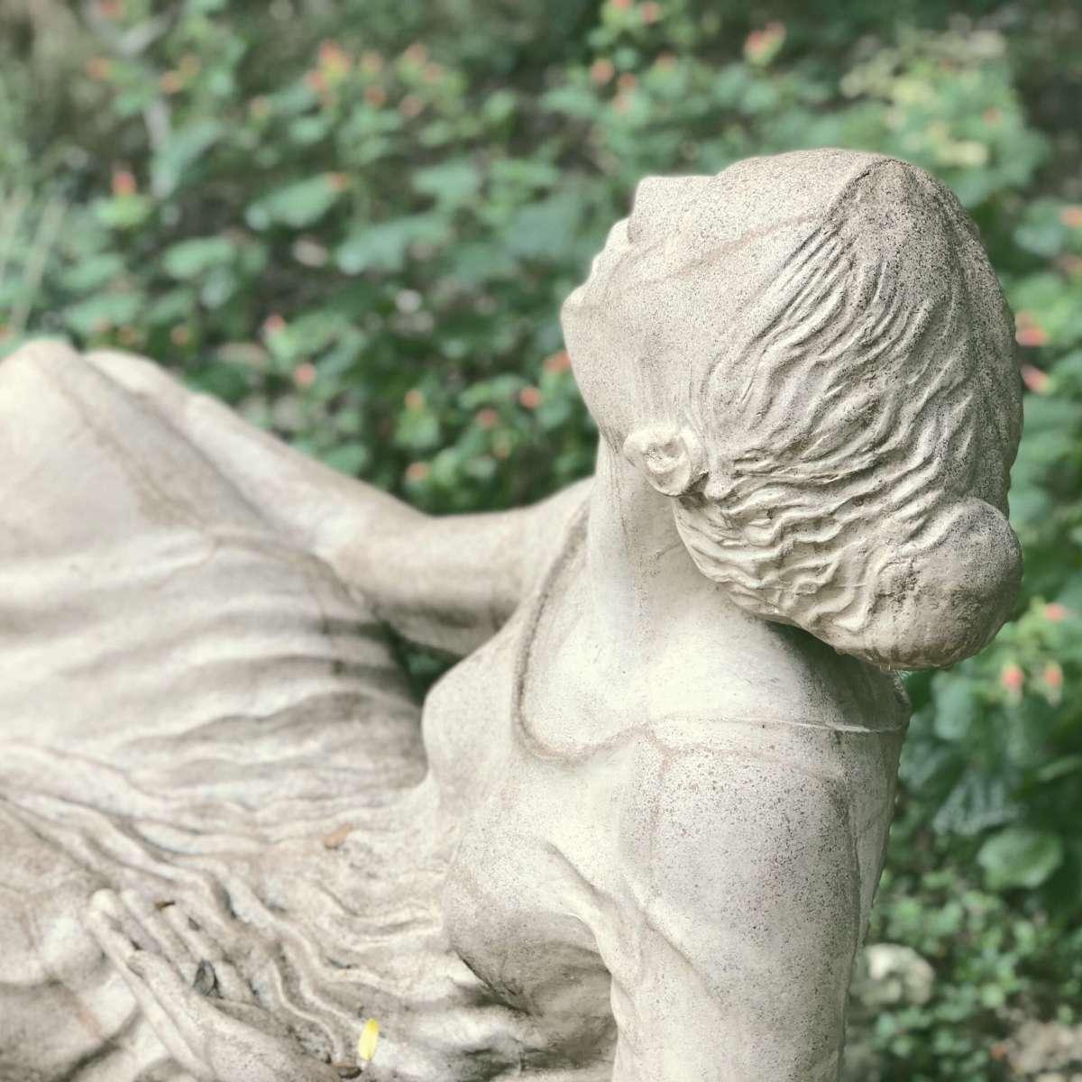 Poetess, Umlauf Sculpture Garden, Austin, Texas