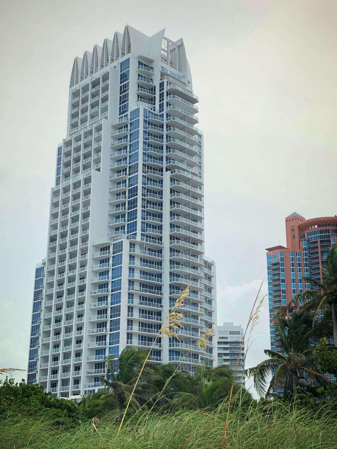 Residential building near Miami beach