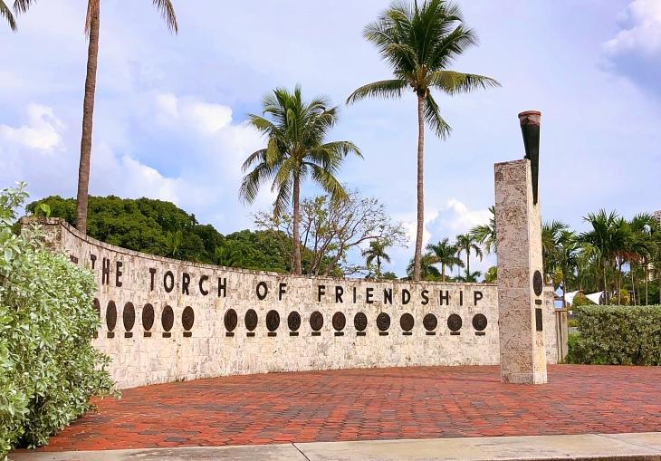 Torch of Friendship, Miami