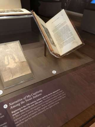 Ancient books in exhibition at The Freedom Tower, Miami
