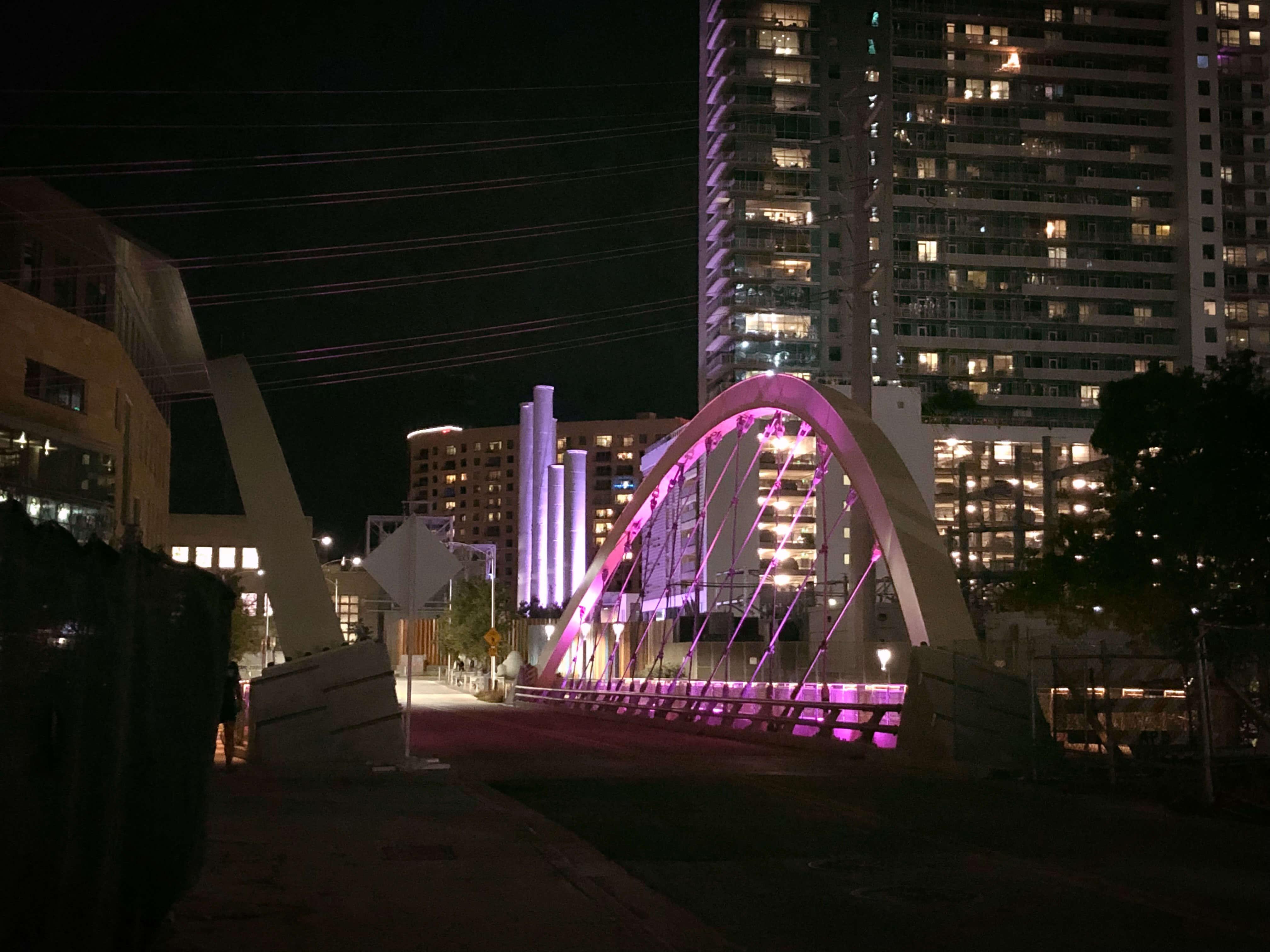 2nd Avenue Bridge in Austin, Texas