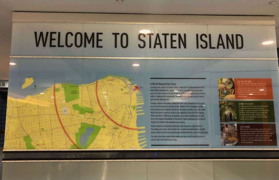 St. George Ferry Terminal, Staten Island, New York