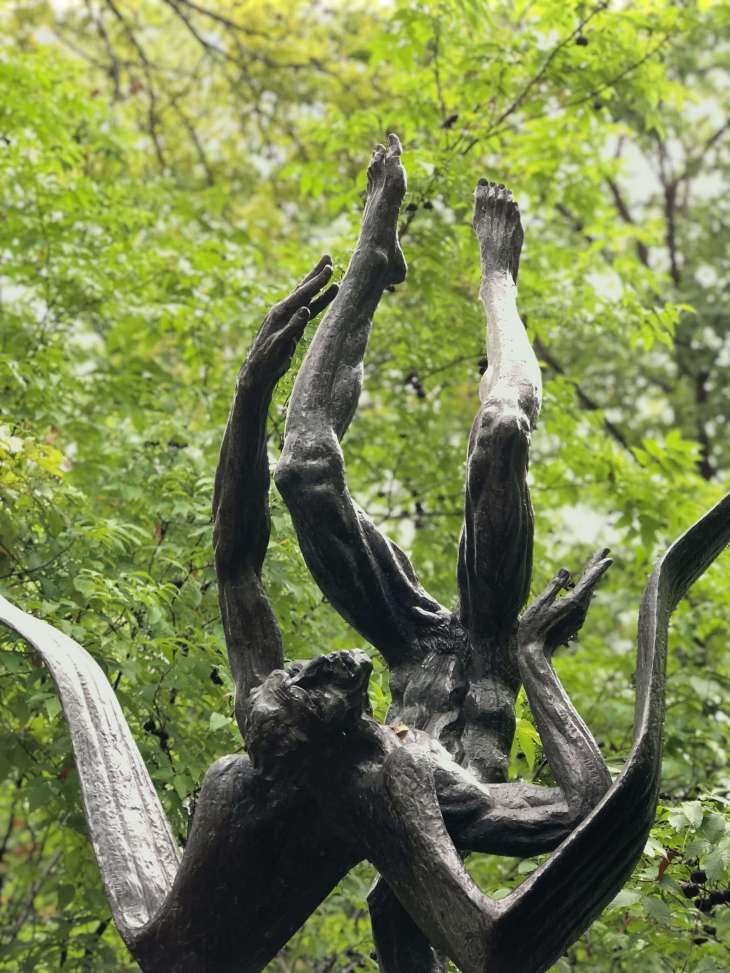 Icarus - a sculpture at the Umlauf sculpture garden and museum, Austin, Texas