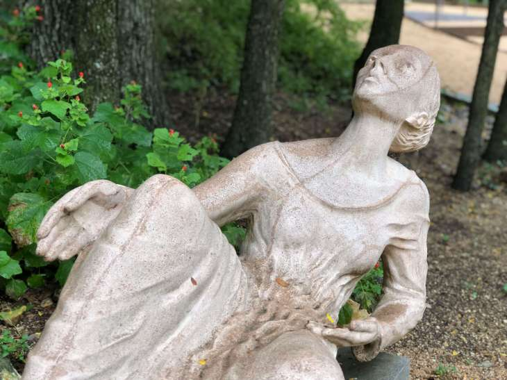 Poetess - a sculpture at the Umlauf sculpture garden and museum, Austin, Texas