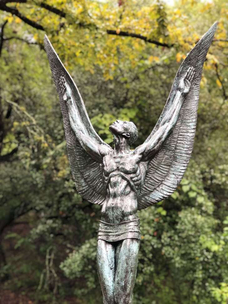 Spirit of Flight  - a sculpture at the Umlauf sculpture garden and museum, Austin, Texas