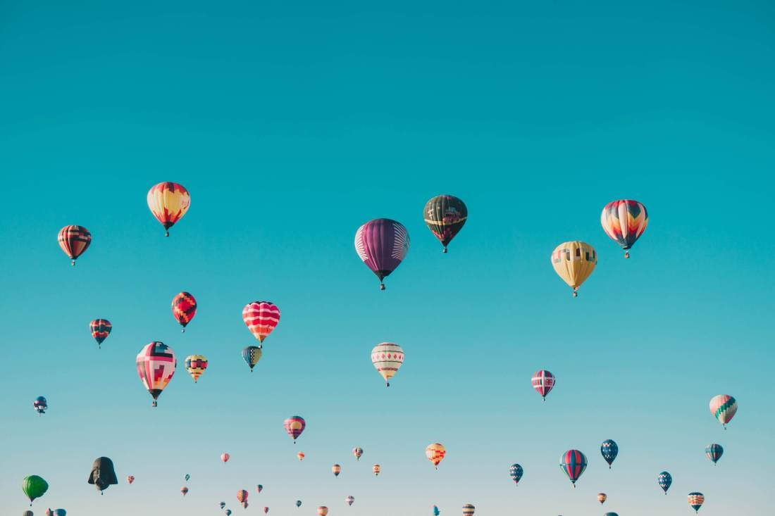Hot air balloons | Unspalsh.com