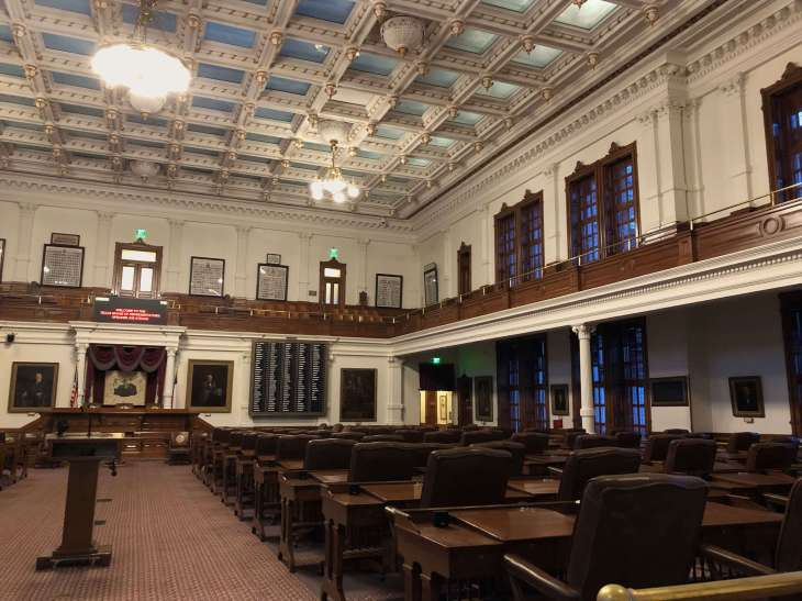 House of Representatives-Texas State Capitol in Austin