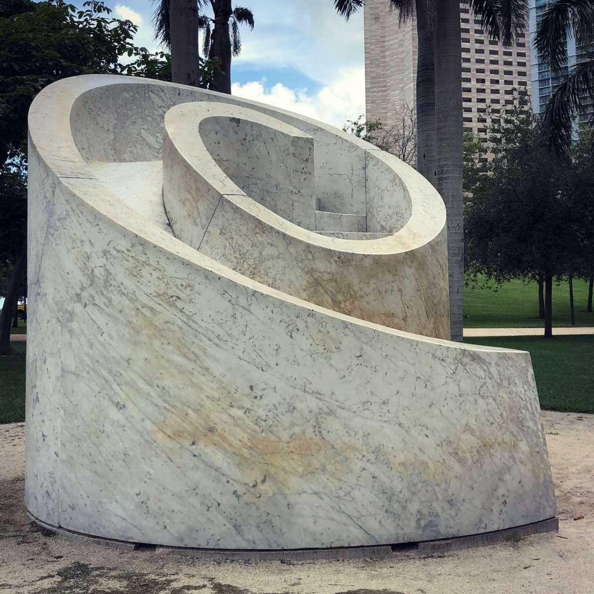 Slide Mantra, Bayfront Park, Miami