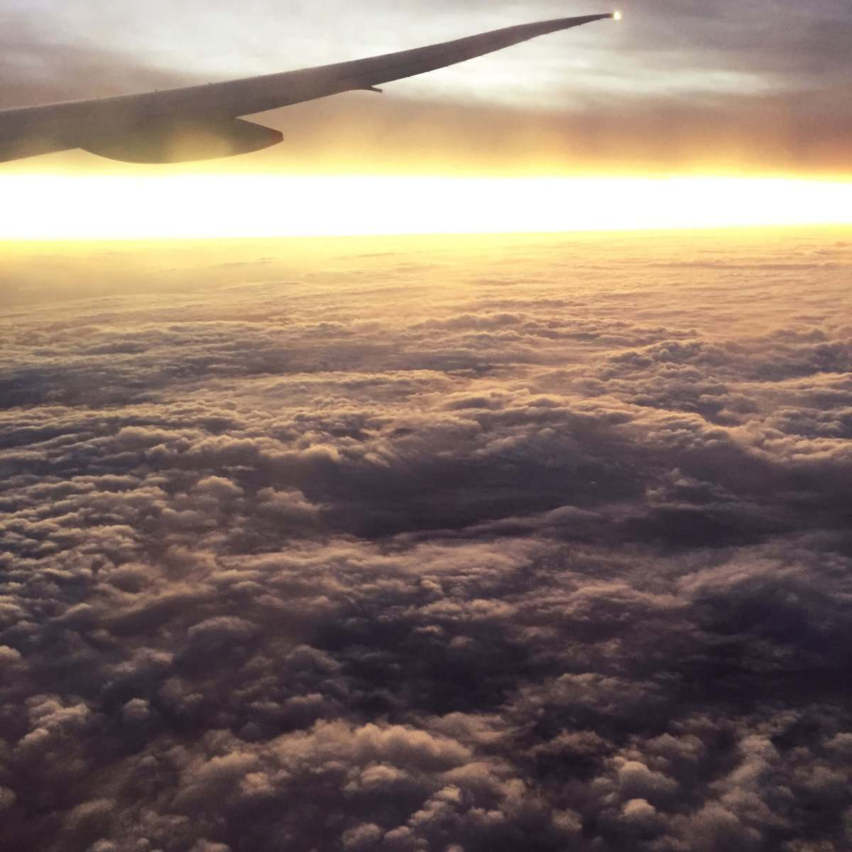 Somewhere above Australia