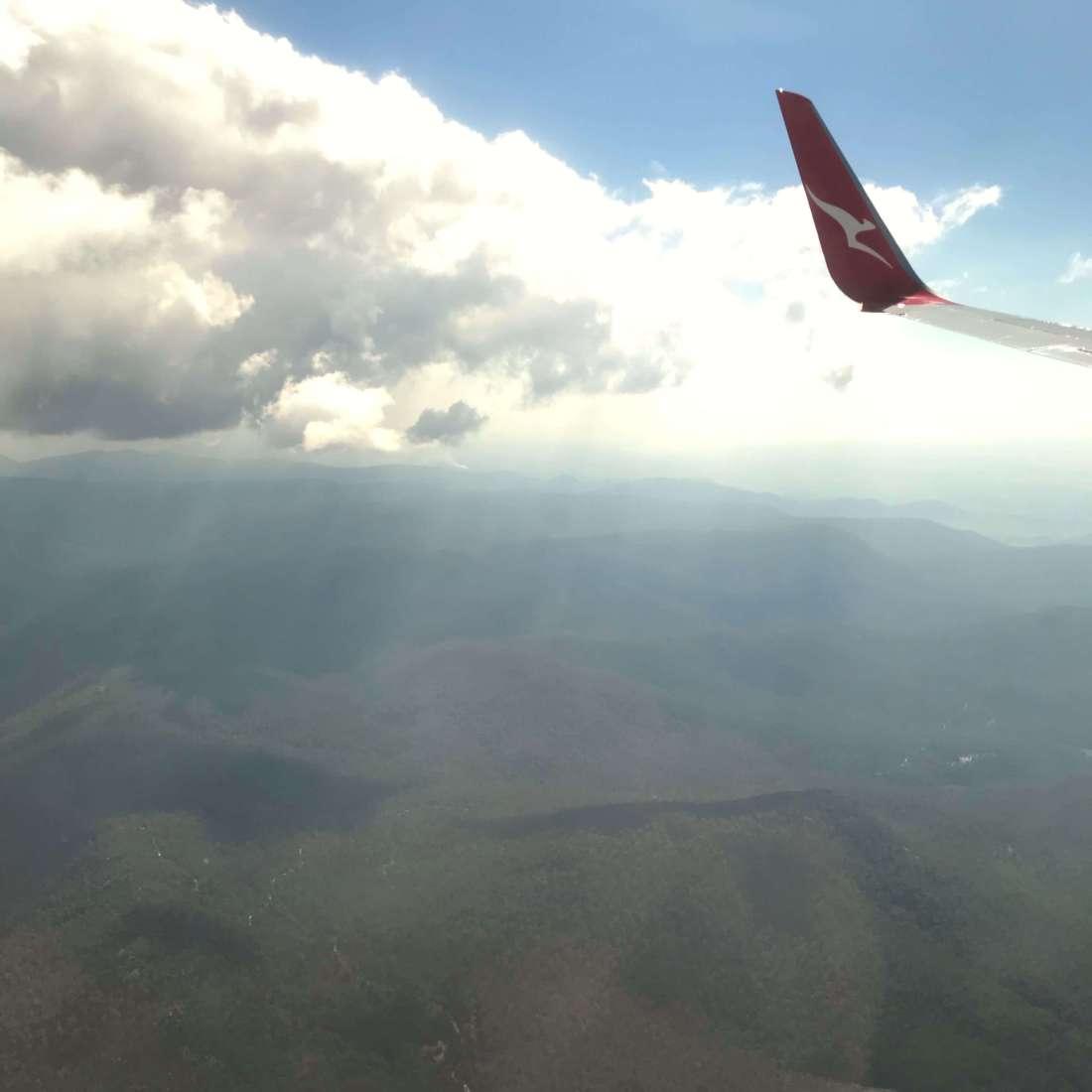Somewhere above Canberra, Australia