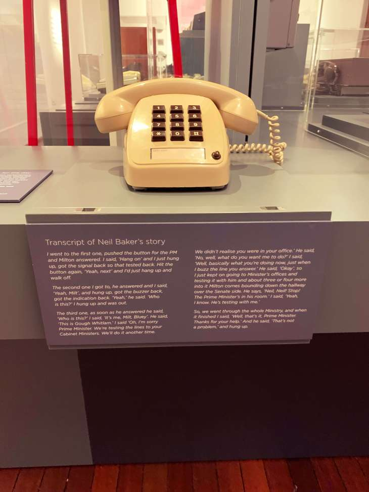 Neil Baker's telephone collection