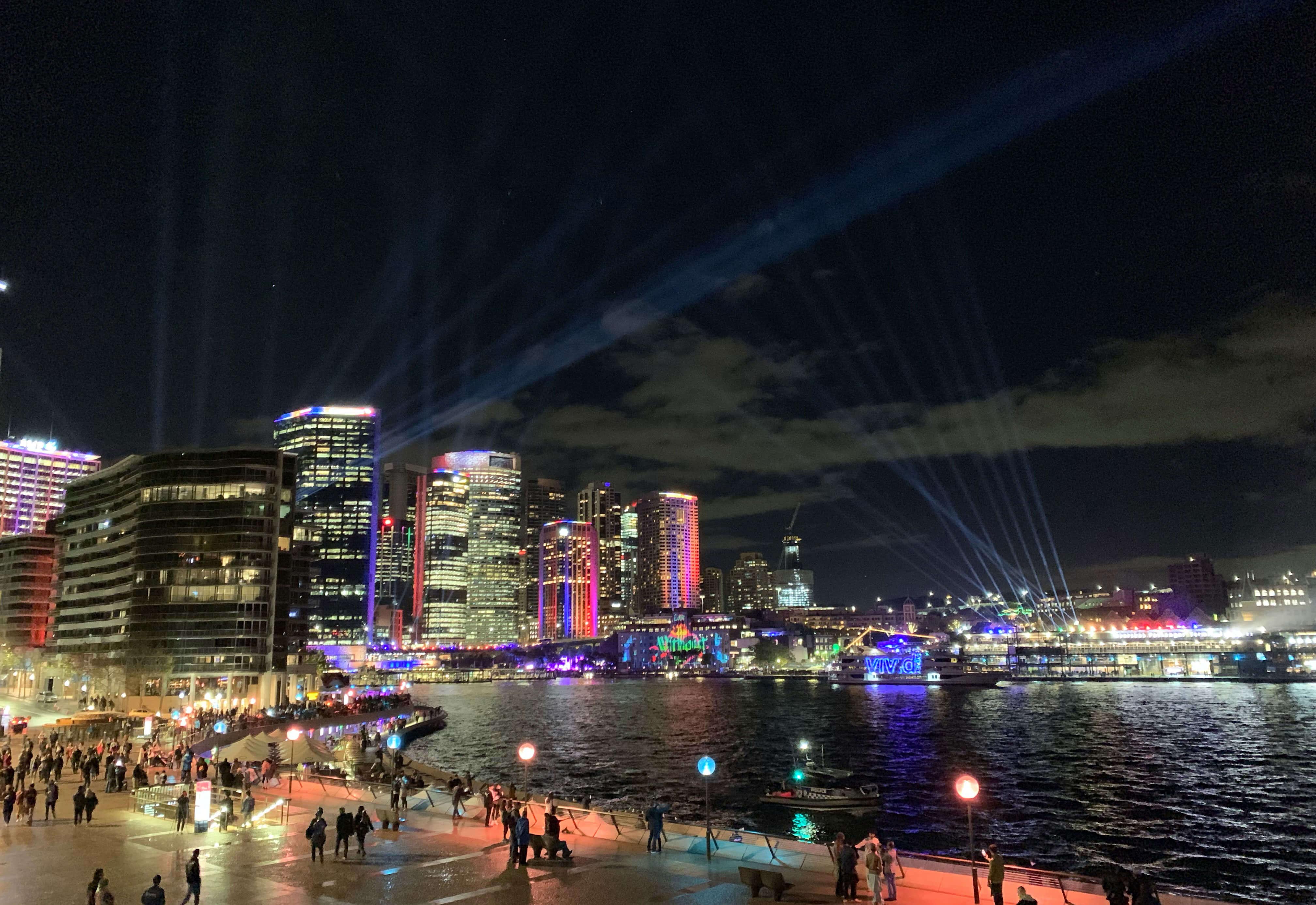 Vivid Sydney, Darling Harbour