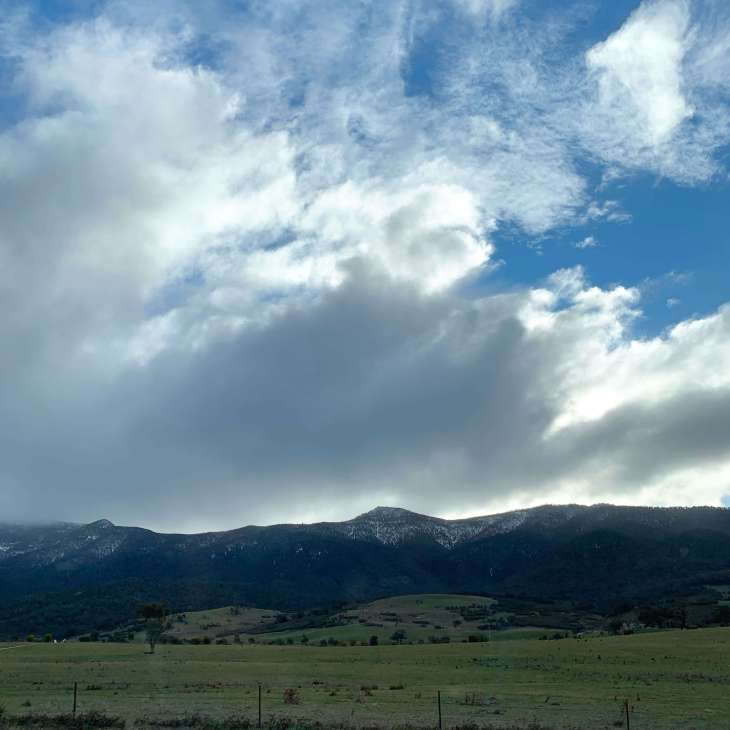 Tidbinbilla mountain range