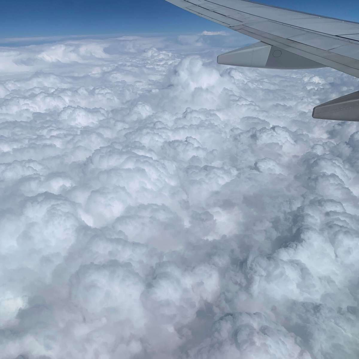 Clouds over Melbourne