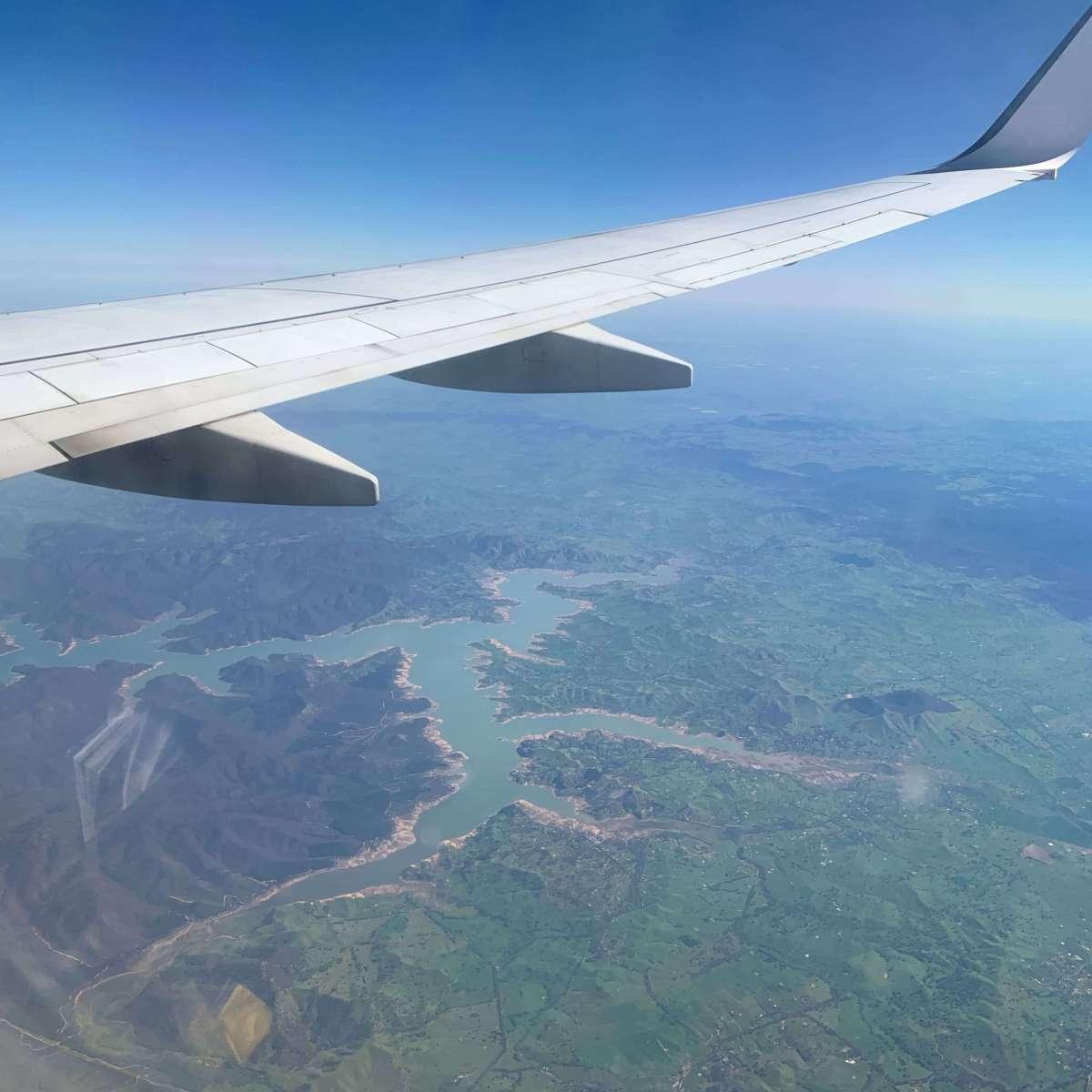 Somewhere over Auckland, New Zealand