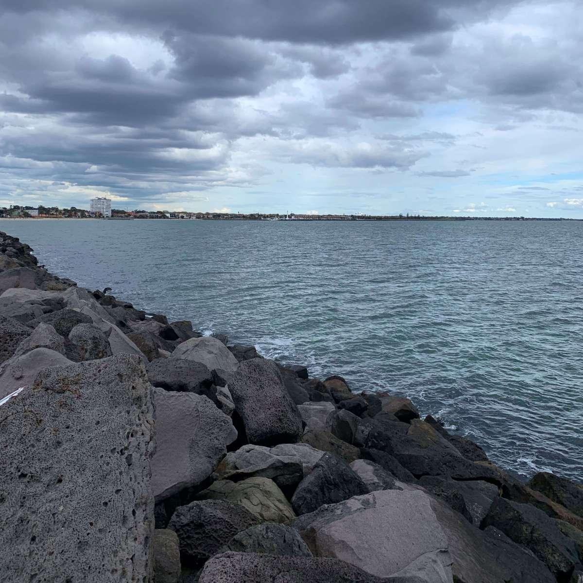 St. Kilda beach, Melbourne, Australia