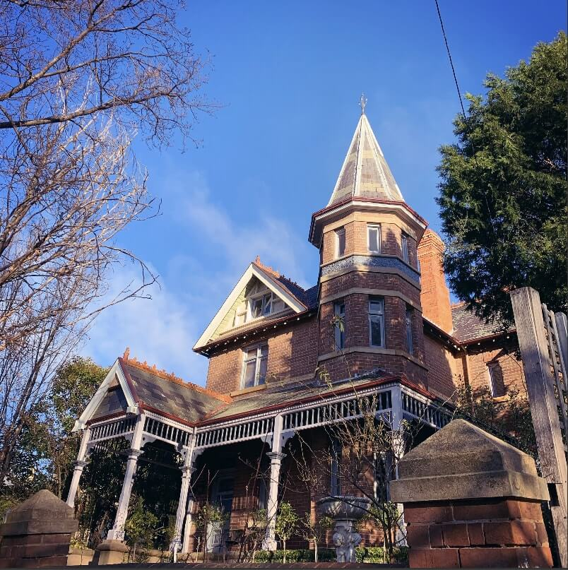 Victorian mansion in Goulburn