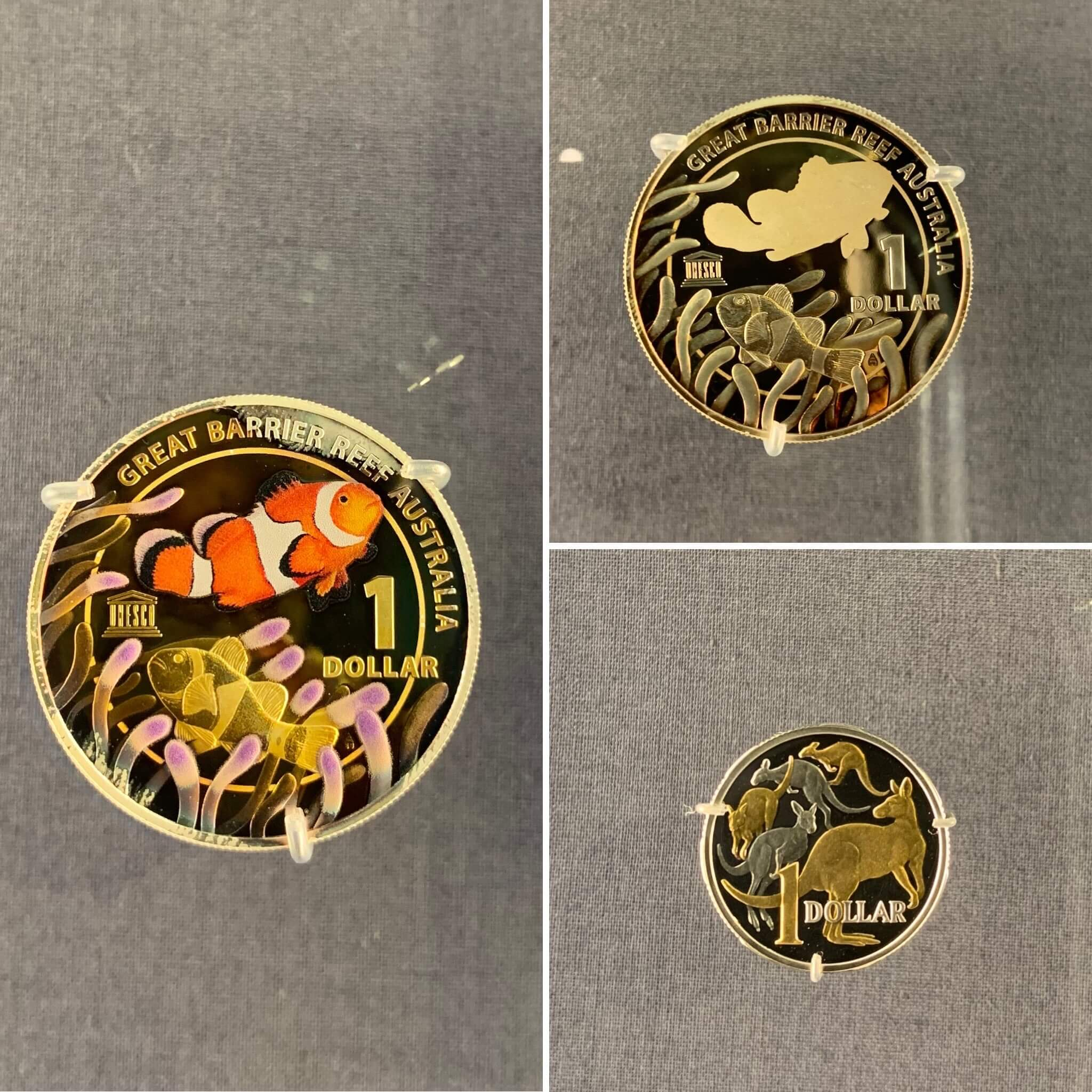 Great Barrier Reef - collector coins - Royal Australian Mint