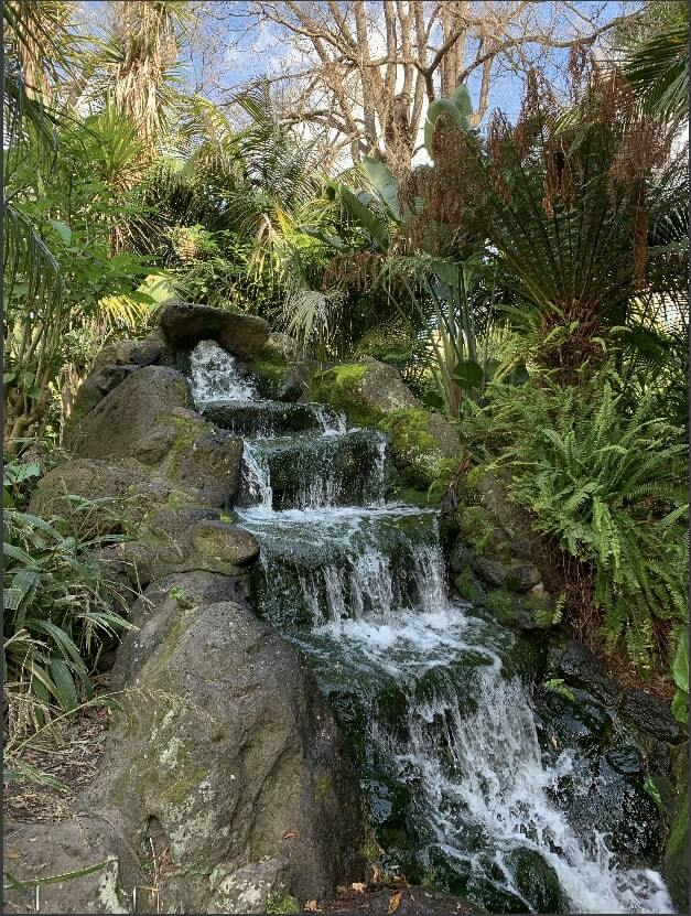 Waterfalls in Fitzroy Gardens, Melbourne, Australia