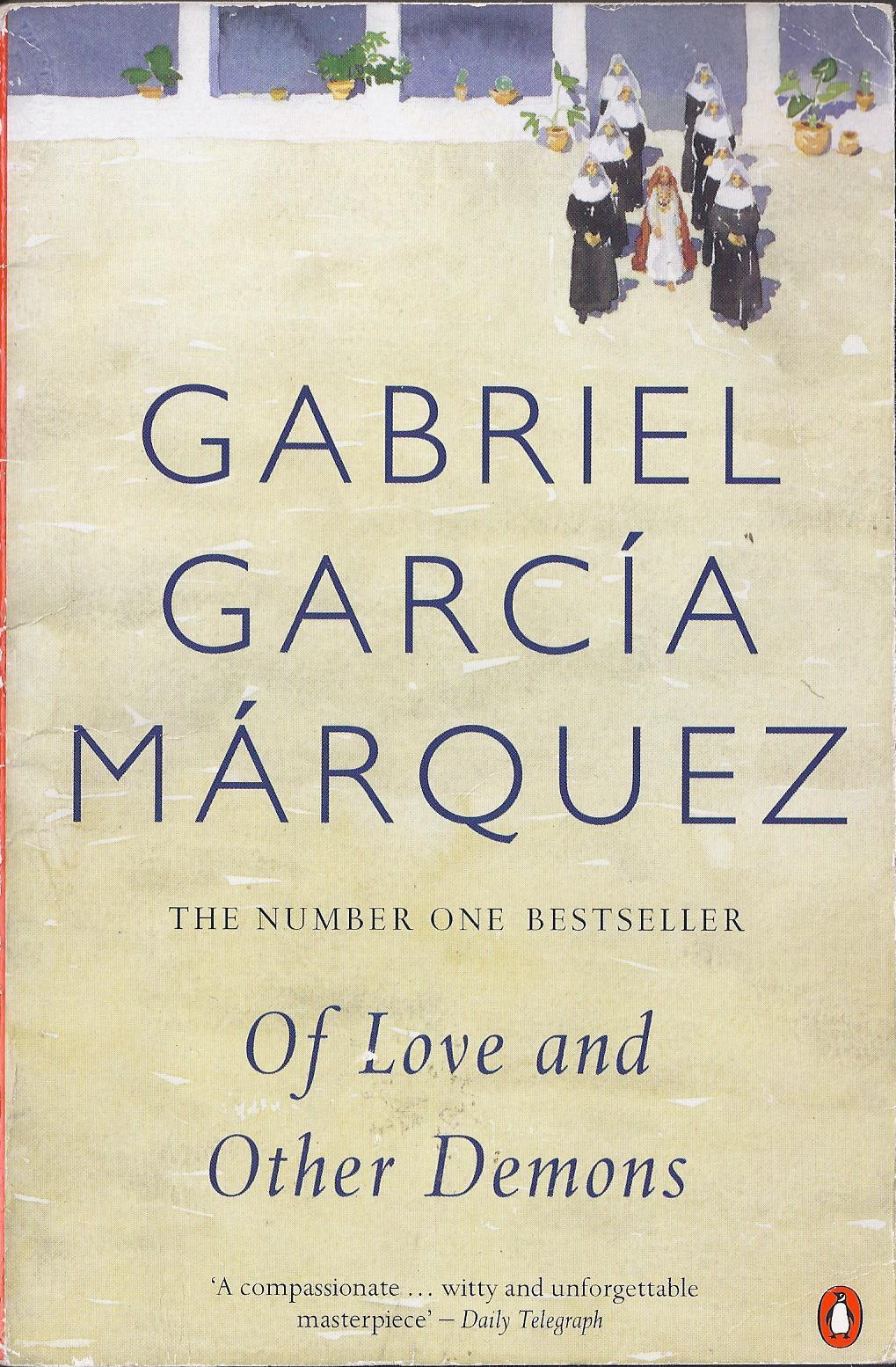 Of Love and Other Demons by Gabriel García Márquez - cover