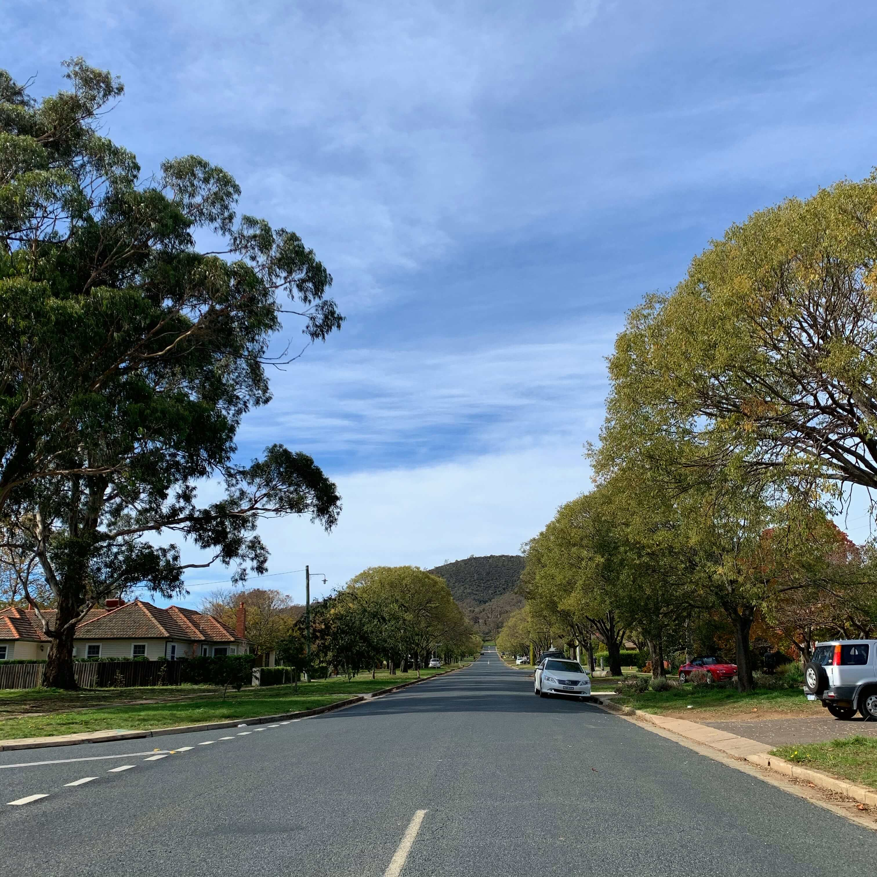 Streets of Canberra