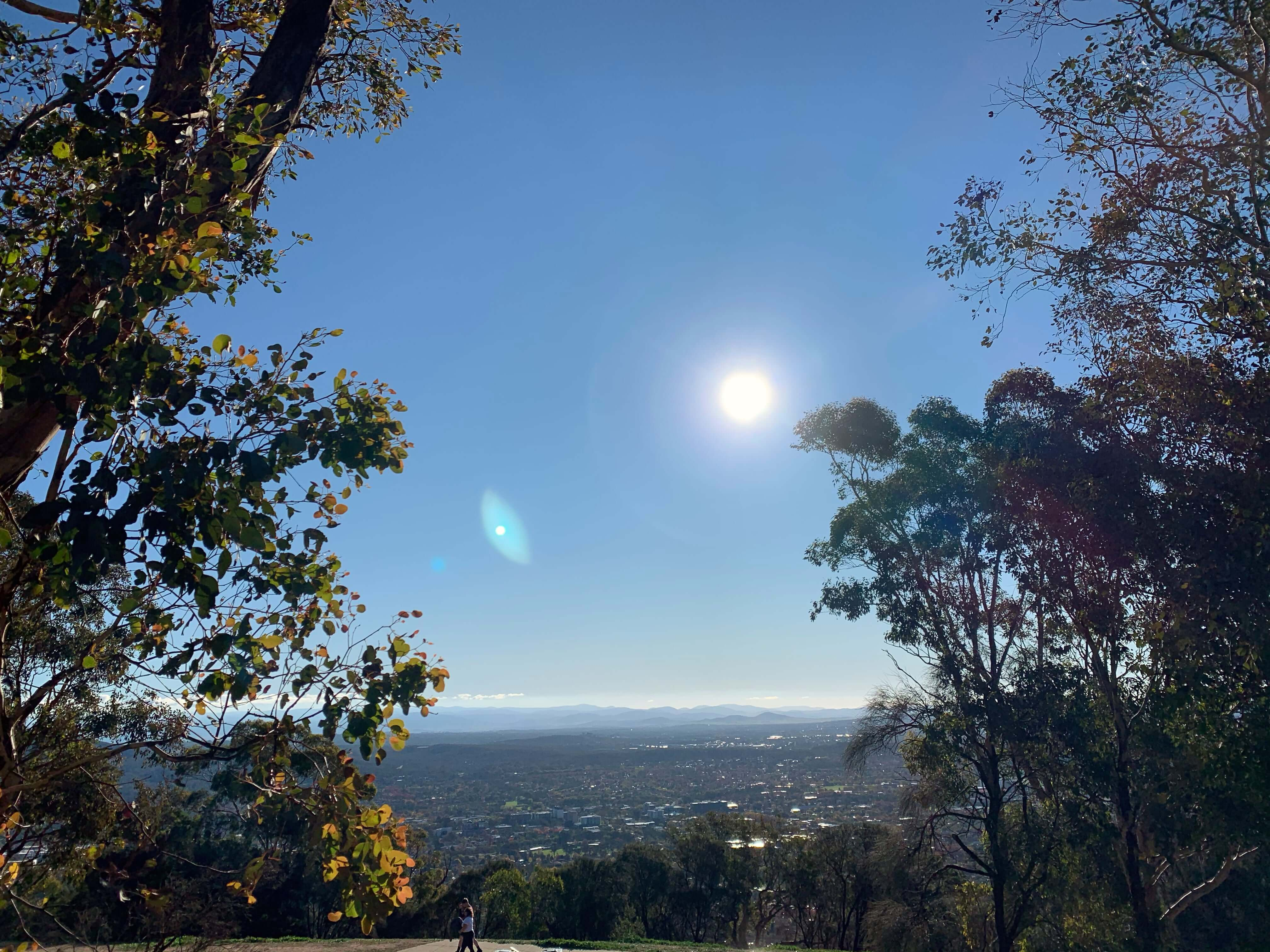 View from Mount Ainslie, Canberra